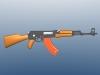 AK47 3D Model Screenshot / Render