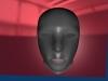 A Simple Face 3D Model Screenshot / Render