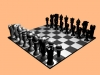 Chessboard 3D Model Screenshot / Render