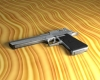 Desert Eagle Pistol 3D Model Screenshot / Render