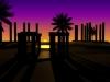 Desert Oasis 3D Model Screenshot / Render