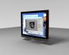 LCD monitor 3D Model Screenshot / Render