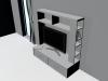 Meuble TV 3D Model Screenshot / Render