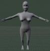 Monster, female 3D Model Screenshot / Render