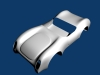 Porche 550 Chassis 3D Model Screenshot / Render