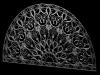 Prague Sebek Palace Fanlight 3D Model Screenshot / Render