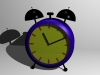 Child clock 3D Model Screenshot / Render