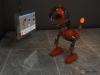 Metallic Robot 3D Model Screenshot / Render