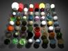 TKR Junky Materials Library 3D Model Screenshot / Render