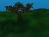 Tree Scene 3D Model Screenshot / Render