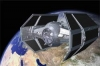 Vader Tie 3D Model Screenshot / Render