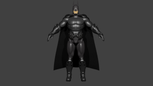 Batman 3D Model Screenshot / Render