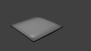simple hood 3D Model Screenshot / Render