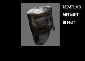 Templar Helm 3D Model Screenshot / Render