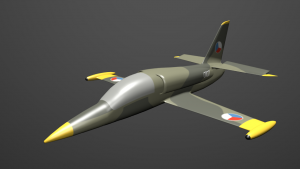 Aero L-39 C Albatros 3D Model Screenshot / Render