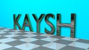 kaysh glossy polished text 3D Model Screenshot / Render