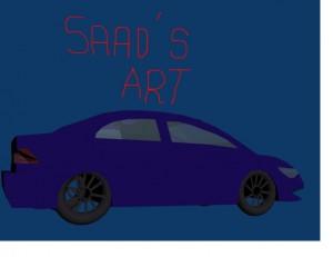 LOW POLY CAR 3D Model Screenshot / Render