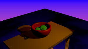 Bowl of Slime 3D Model Screenshot / Render