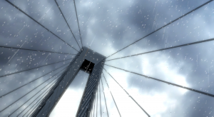 Rainy Windows Animation 3D Model Screenshot / Render