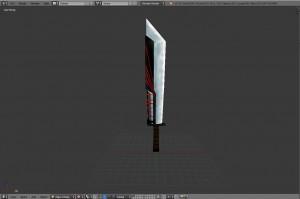 Sword 3D Model Screenshot / Render