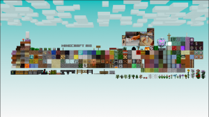 Every Thing You Need For Mine Craft 3D Animations 3D Model Screenshot / Render