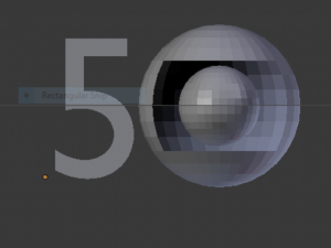 Cincuenta anos da globo.blend 3D Model Screenshot / Render