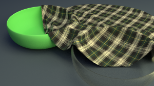 Cloth_Simulation 3D Model Screenshot / Render