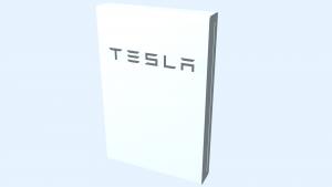 tesla powerwall2 3D Model Screenshot / Render