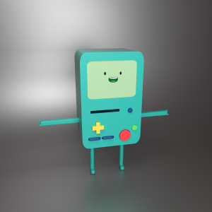 Beemo 3D Model Screenshot / Render