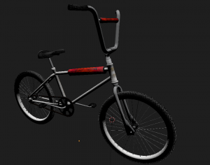 bicycle 3D Model Screenshot / Render