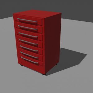 toolbox 3D Model Screenshot / Render