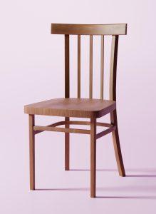 Standart Chair 3D Model Screenshot / Render