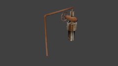 WellHead 3D Model Screenshot / Render
